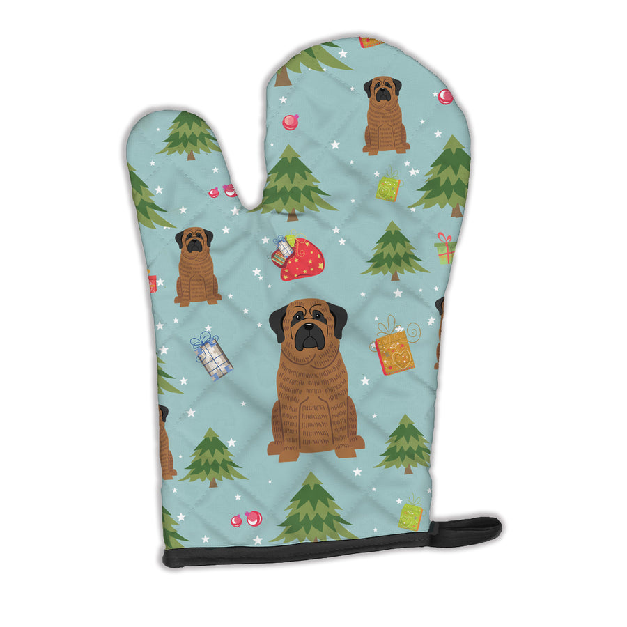 Buy this Christmas Mastiff Brindle Oven Mitt BB4675OVMT