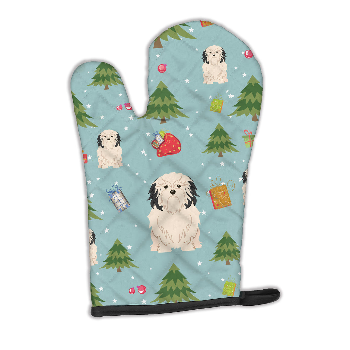 Buy this Christmas Lowchen Oven Mitt BB4679OVMT