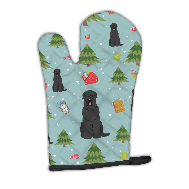 Buy this Christmas Black Russian Terrier Oven Mitt BB4686OVMT