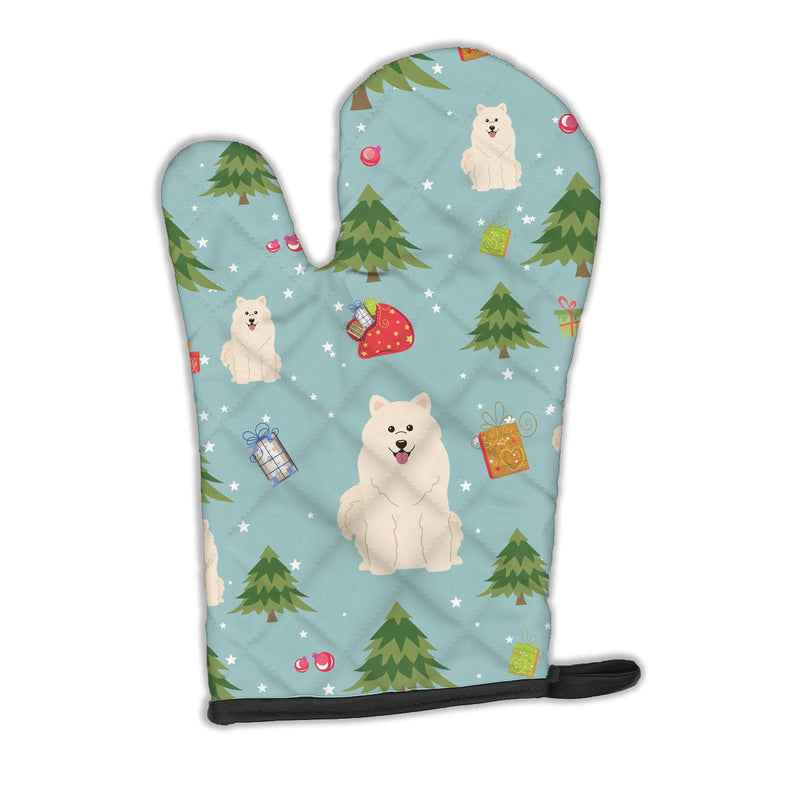 Buy this Christmas Samoyed Oven Mitt BB4690OVMT