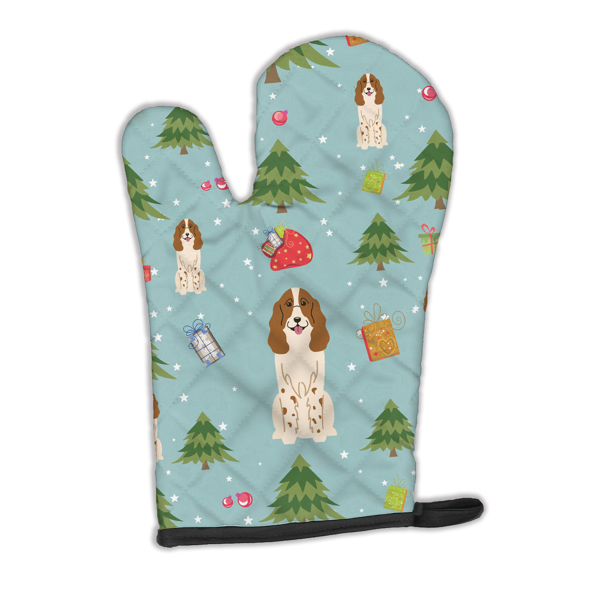 Buy this Christmas Russian Spaniel Oven Mitt BB4691OVMT
