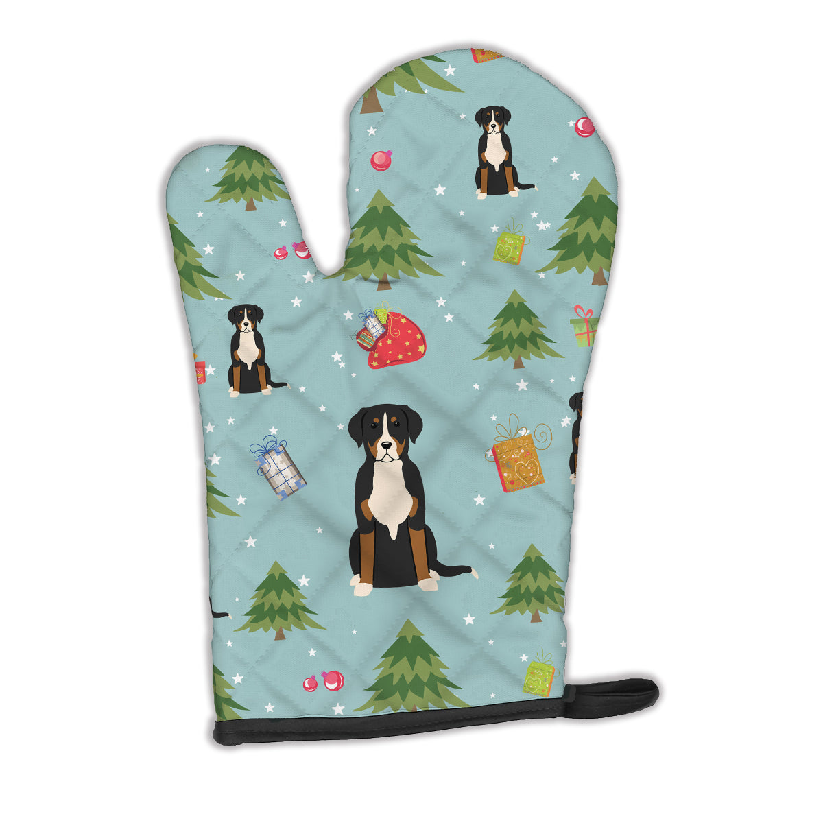 Christmas Greater Swiss Mountain Dog Oven Mitt BB4697OVMT by Caroline's Treasures