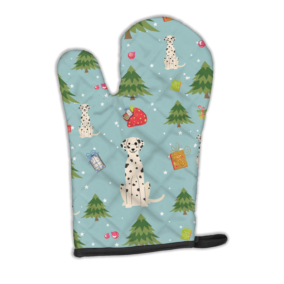Christmas Dalmatian Oven Mitt BB4757OVMT by Caroline's Treasures