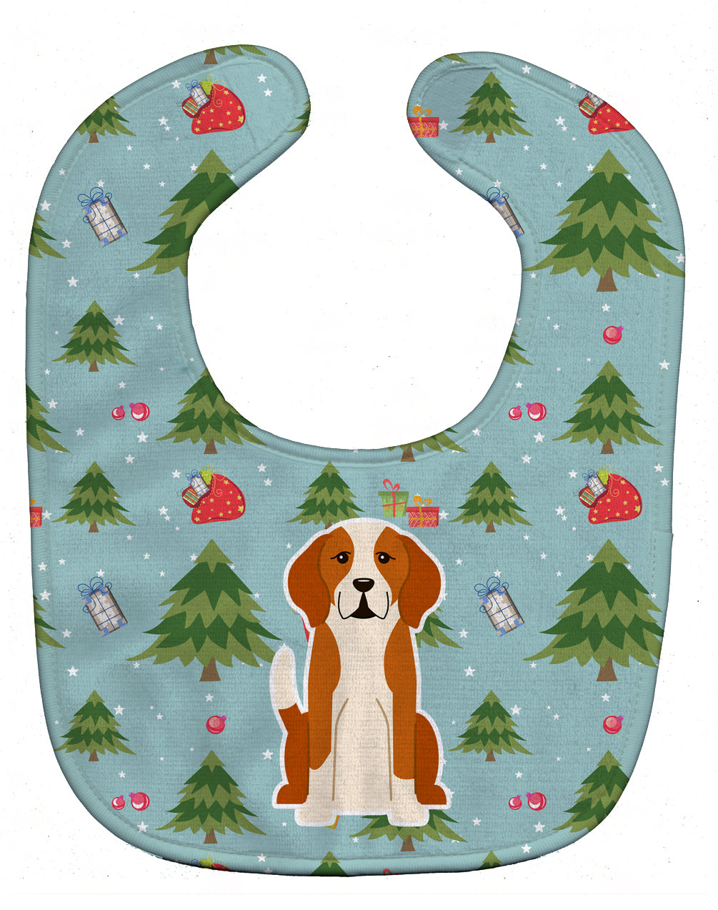 Christmas English Foxhound Baby Bib BB4770BIB by Caroline's Treasures