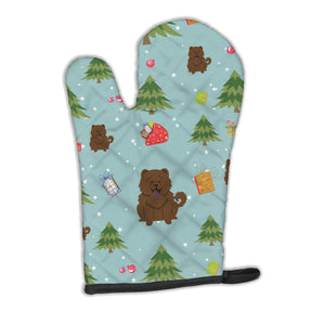 Buy this Christmas Chow Chow Chocolate Oven Mitt BB4801OVMT