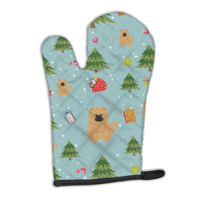 Buy this Christmas Chow Chow Cream Oven Mitt BB4804OVMT