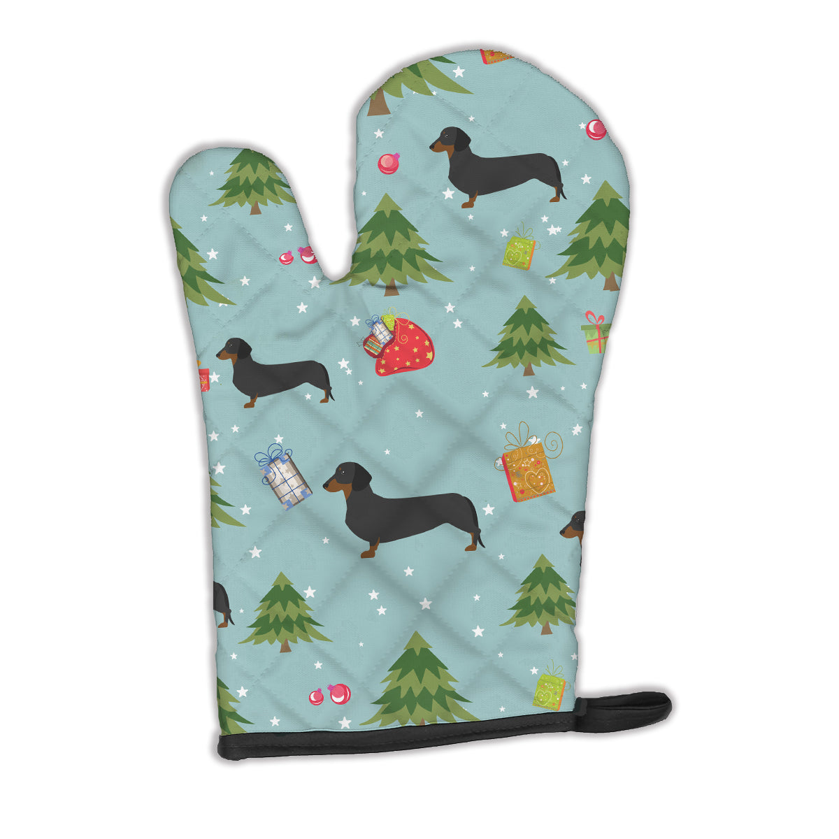 Buy this Christmas Dachshund Oven Mitt BB4806OVMT