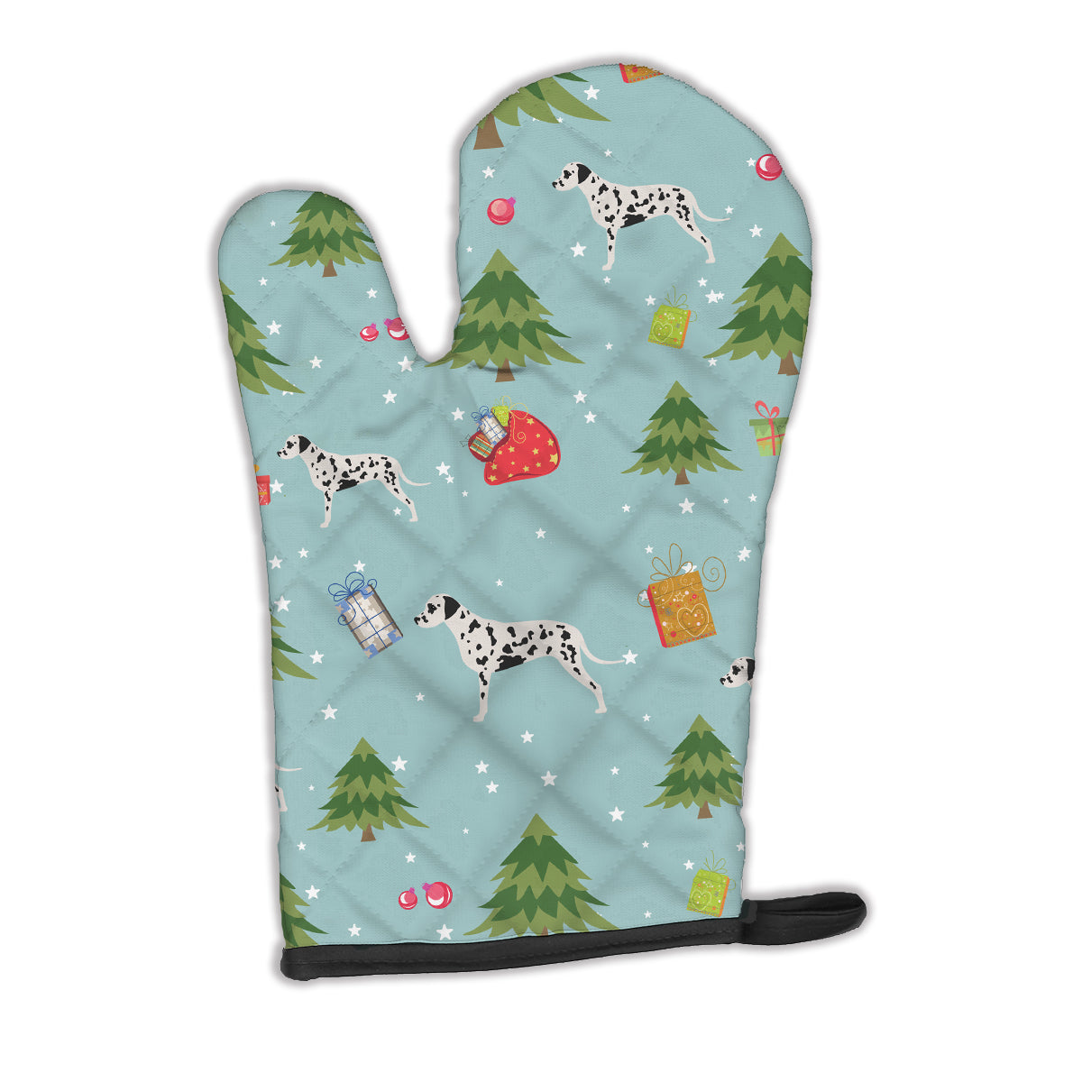 Buy this Christmas Dalmatian Oven Mitt BB4807OVMT