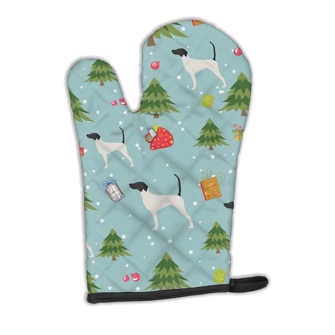 Buy this Christmas English Pointer Oven Mitt BB4819OVMT