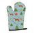 Christmas Borzoi Russian Greyhound Oven Mitt BB4823OVMT by Caroline's Treasures