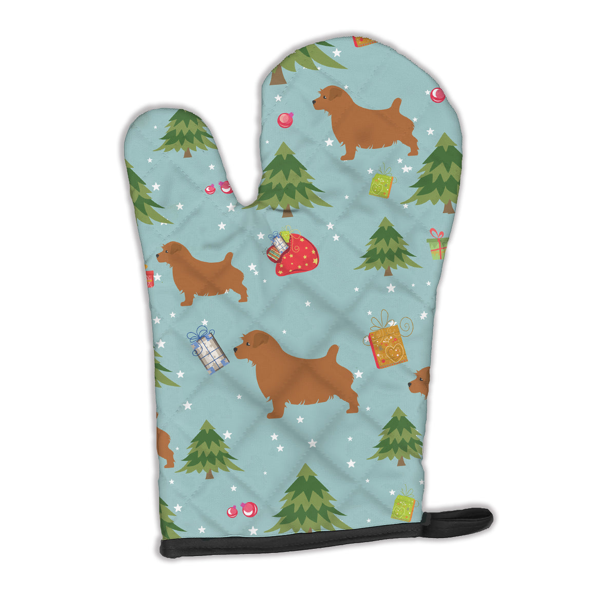 Buy this Christmas Norfolk Terrier Oven Mitt BB4833OVMT