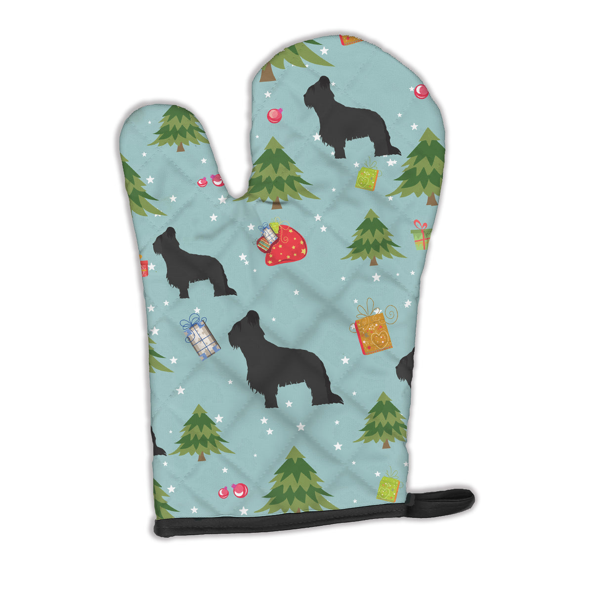 Buy this Christmas Briard Oven Mitt BB4850OVMT