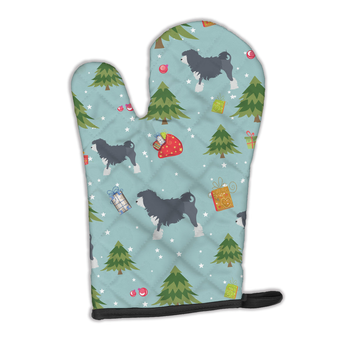 Buy this Christmas Lowchen Oven Mitt BB4859OVMT