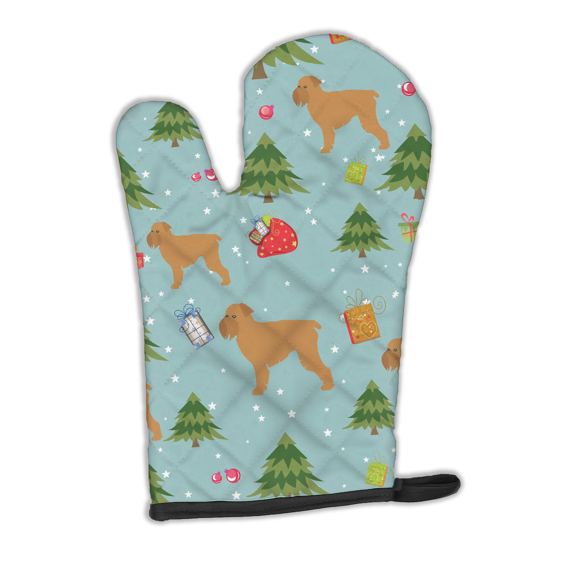 Buy this Christmas Brussels Griffon Oven Mitt BB4864OVMT