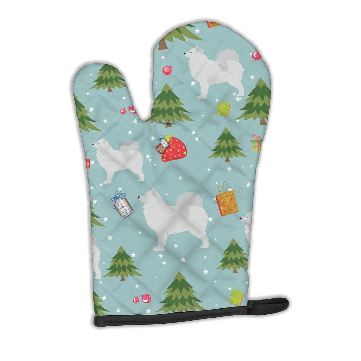 Buy this Christmas Samoyed Oven Mitt BB4883OVMT
