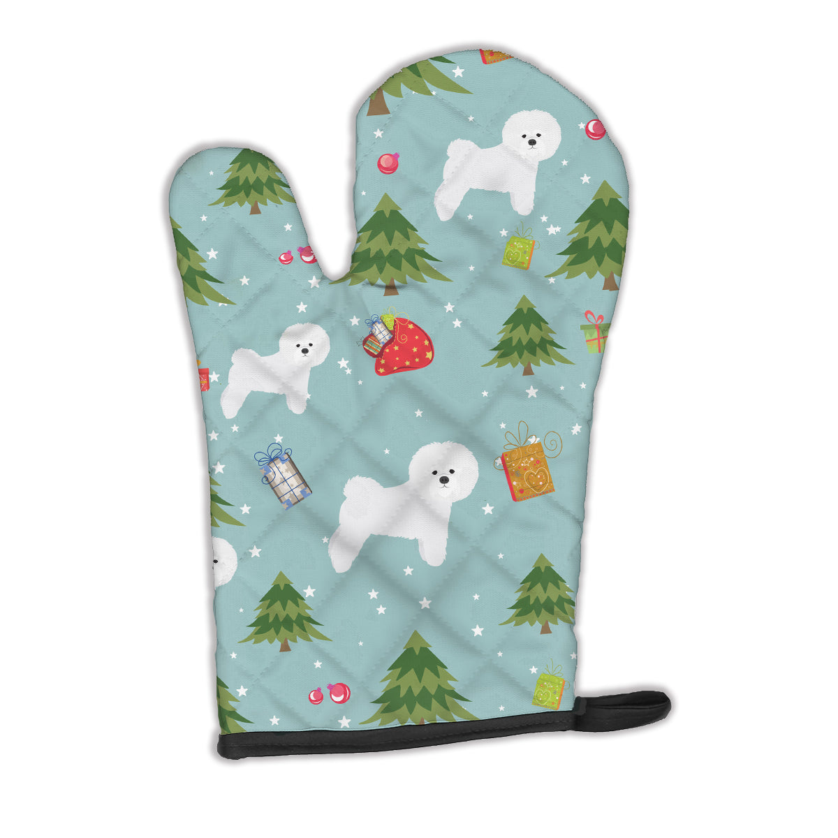 Christmas Bichon Frise Oven Mitt BB4911OVMT by Caroline's Treasures