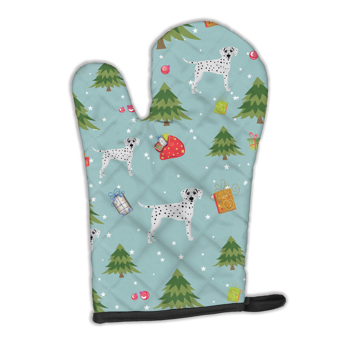 Buy this Christmas Dalmatian Oven Mitt BB4940OVMT