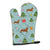 Buy this Christmas Red Dachshund Oven Mitt BB4942OVMT
