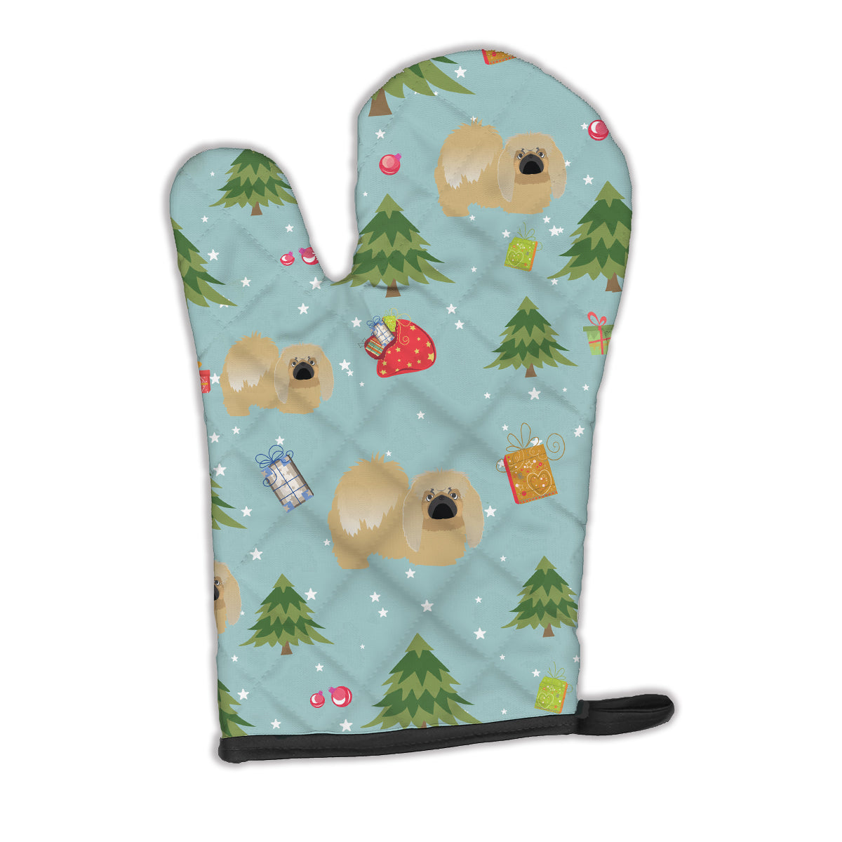 Buy this Christmas Pekingese Oven Mitt BB4970OVMT