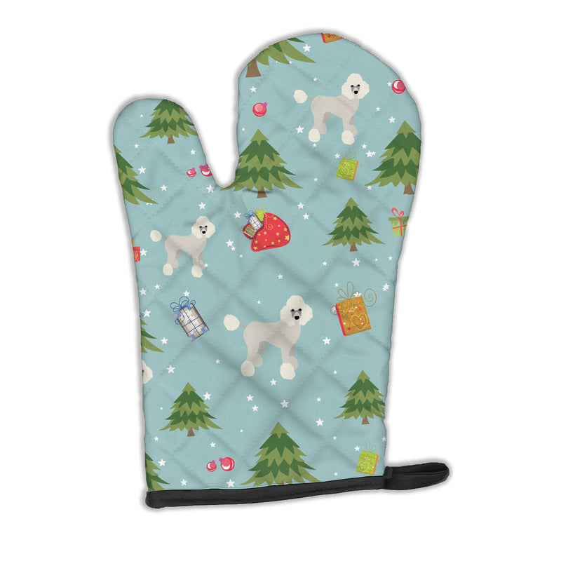 Buy this Christmas Poodle Oven Mitt BB4974OVMT