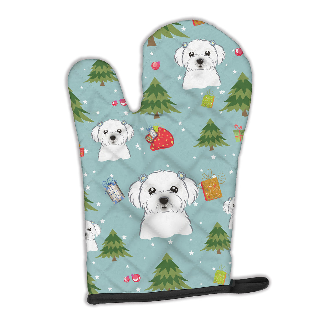 Buy this Christmas Maltese Oven Mitt BB4997OVMT