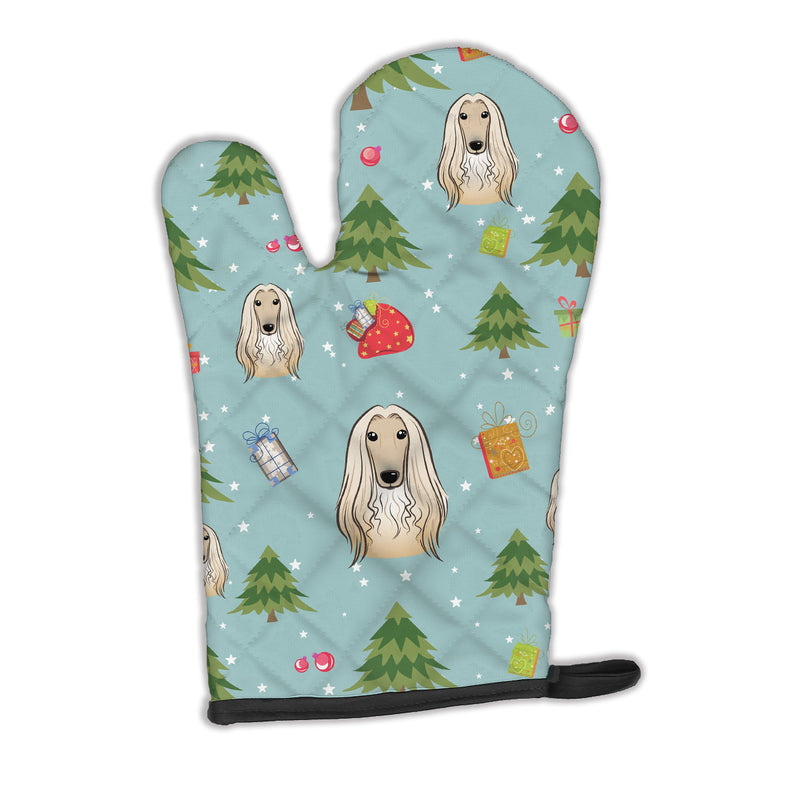 Buy this Christmas Afghan Hound Oven Mitt BB5033OVMT