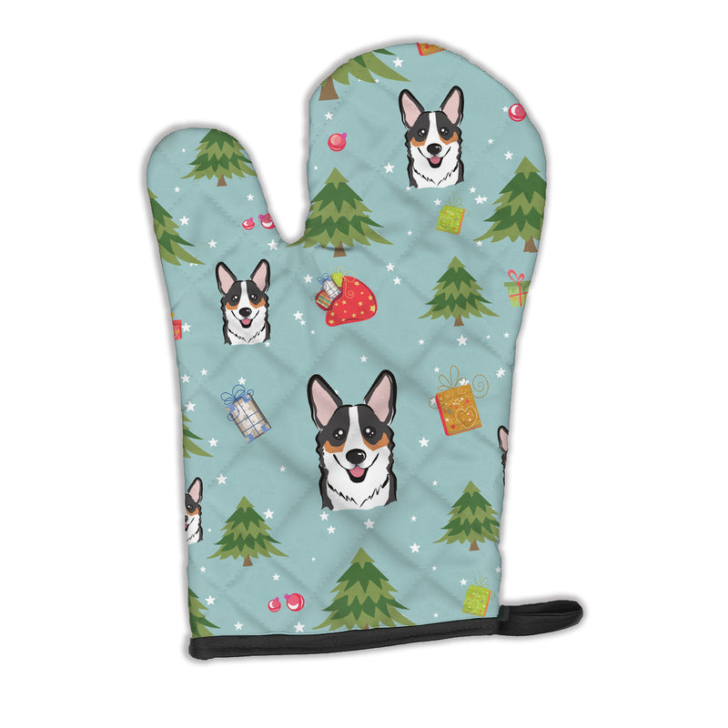 Buy this Christmas Tricolor Corgi Oven Mitt BB5044OVMT