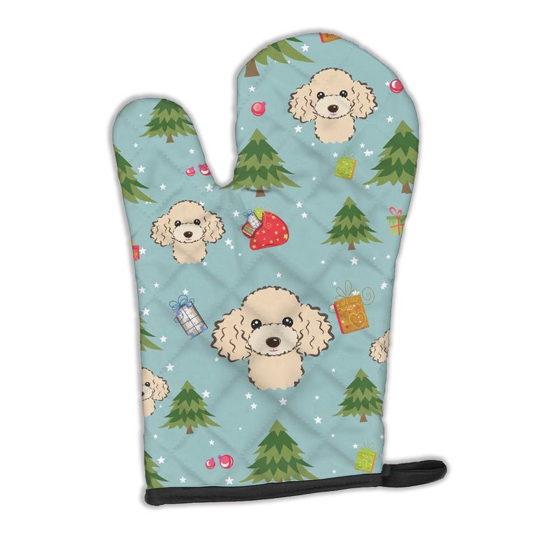 Buy this Christmas Buff Poodle Oven Mitt BB5047OVMT