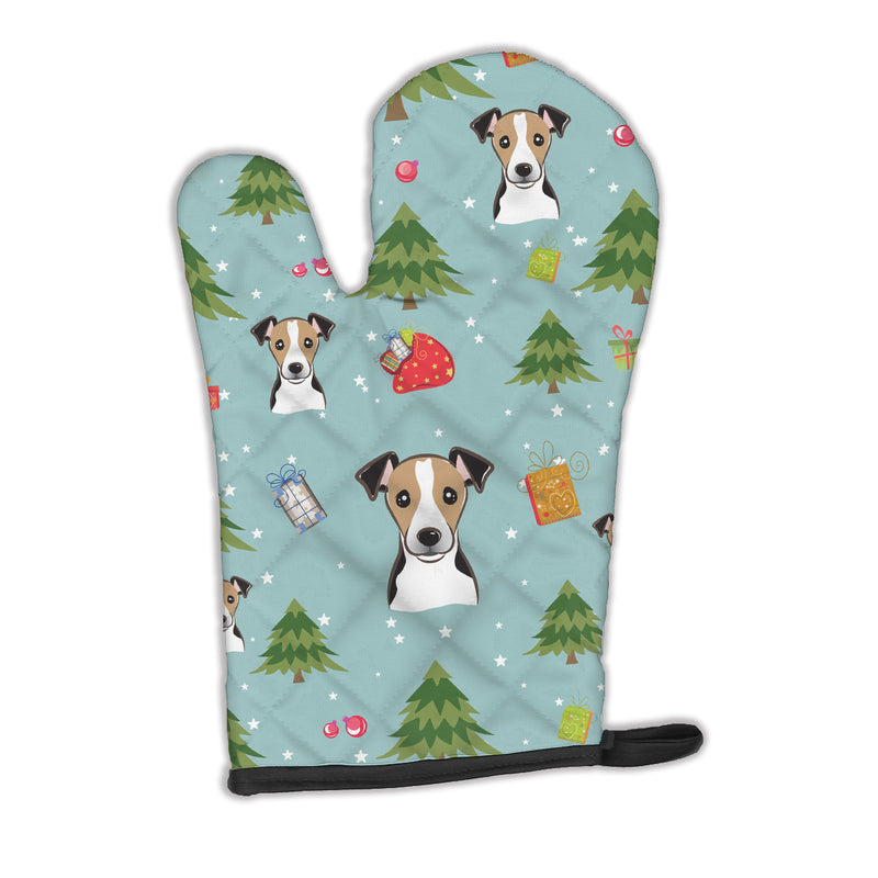 Buy this Christmas Jack Russell Terrier Oven Mitt BB5050OVMT