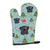 Buy this Christmas Black Pug Oven Mitt BB5052OVMT