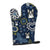 Buy this Blue Flowers Boston Terrier Oven Mitt BB5054OVMT