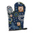 Buy this Blue Flowers Yorkie Yorkishire Terrier Oven Mitt BB5055OVMT