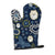 Buy this Blue Flowers Pomeranian Oven Mitt BB5058OVMT