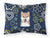 Buy this Blue Flowers Shiba Inu Fabric Standard Pillowcase BB5076PILLOWCASE