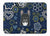 Blue Flowers French Bulldog Machine Washable Memory Foam Mat BB5078RUG by Caroline's Treasures