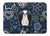 Blue Flowers Japanese Chin Machine Washable Memory Foam Mat BB5081RUG by Caroline's Treasures
