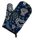 Buy this Blue Flowers Weimaraner Oven Mitt BB5082OVMT
