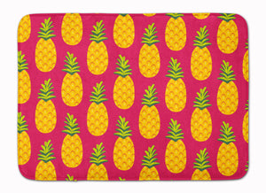 Buy this Pineapples on Pink Machine Washable Memory Foam Mat BB5136RUG