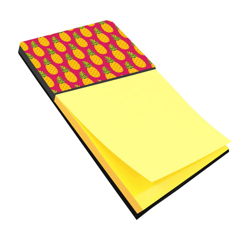 Buy this Pineapples on Pink Sticky Note Holder BB5136SN