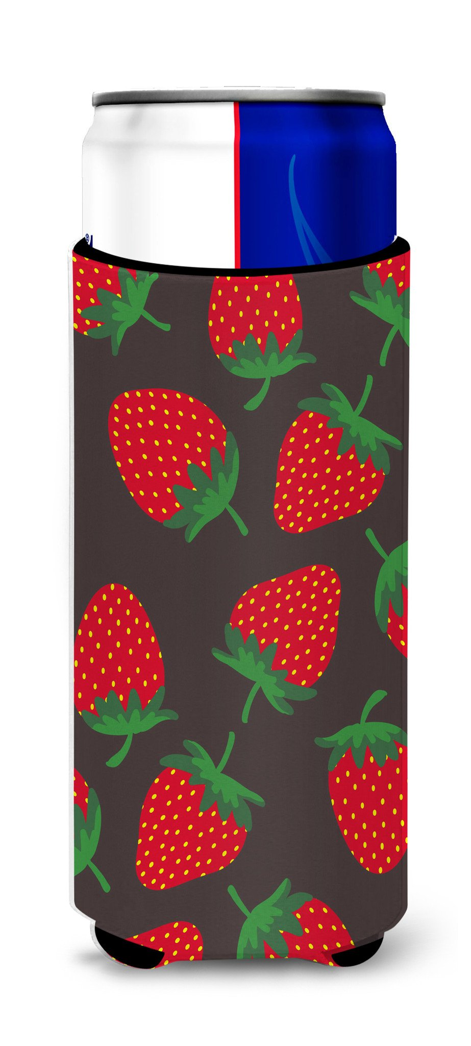 Buy this Strawberries on Gray Michelob Ultra Hugger for slim cans BB5137MUK
