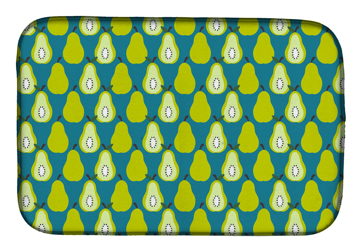 Buy this Pears on Green Dish Drying Mat BB5138DDM