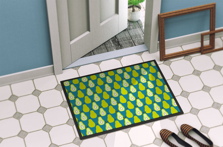 Buy this Pears on Green Indoor or Outdoor Mat 24x36 BB5138JMAT