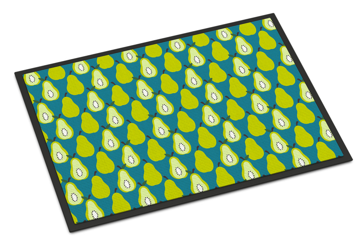 Buy this Pears on Green Indoor or Outdoor Mat 18x27 BB5138MAT