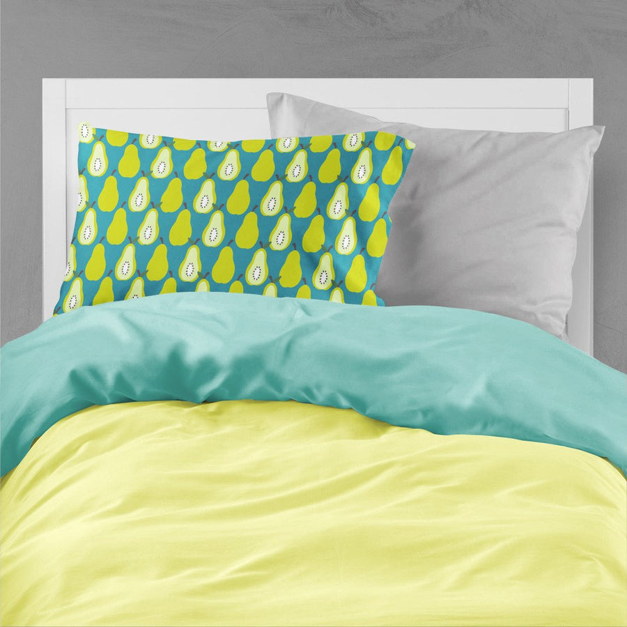 Buy this Pears on Green Fabric Standard Pillowcase BB5138PILLOWCASE