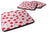 Cherries on Pink Foam Coaster Set of 4 BB5139FC by Caroline's Treasures