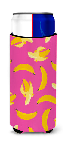 Buy this Bananas on Pink Michelob Ultra Hugger for slim cans BB5140MUK