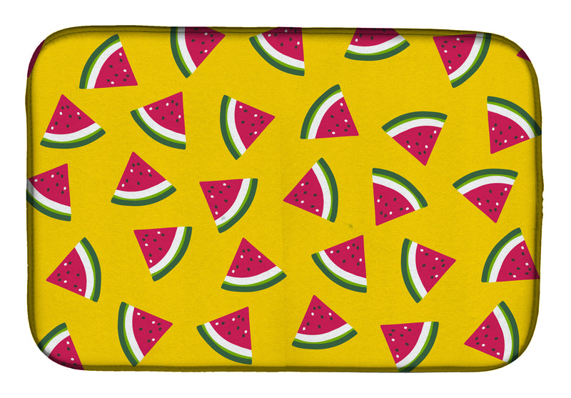 Buy this Watermelon on Yellow Dish Drying Mat BB5144DDM