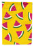 Watermelon on Yellow Flag Garden Size BB5144GF by Caroline's Treasures