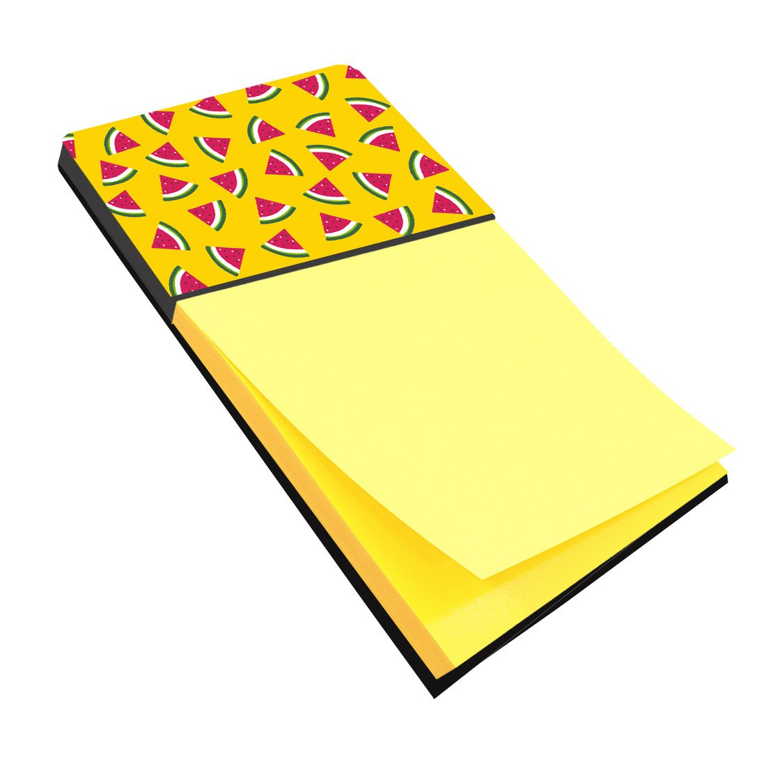 Watermelon on Yellow Sticky Note Holder BB5144SN by Caroline's Treasures