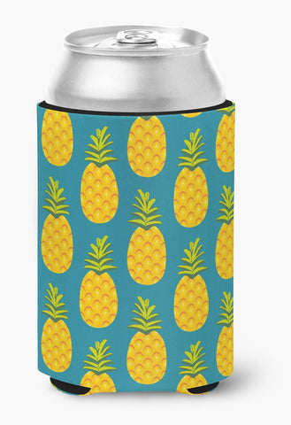 Buy this Pineapples on Teal Can or Bottle Hugger BB5145CC